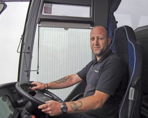 Garry Williams, Operations Manager at Camborne based Williams Travel