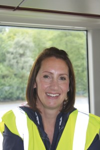 Kirklees Council's Principle Engineer and member of the Transport Strategy Team, Joanne Waddington