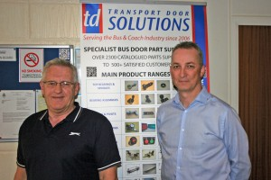 (LtoR) Design Engineer, Alan Wilson and MD, Paul Rossington