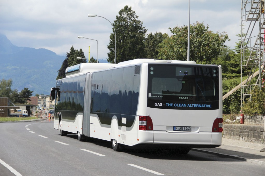 MAN Lion's City G CNG-Rear