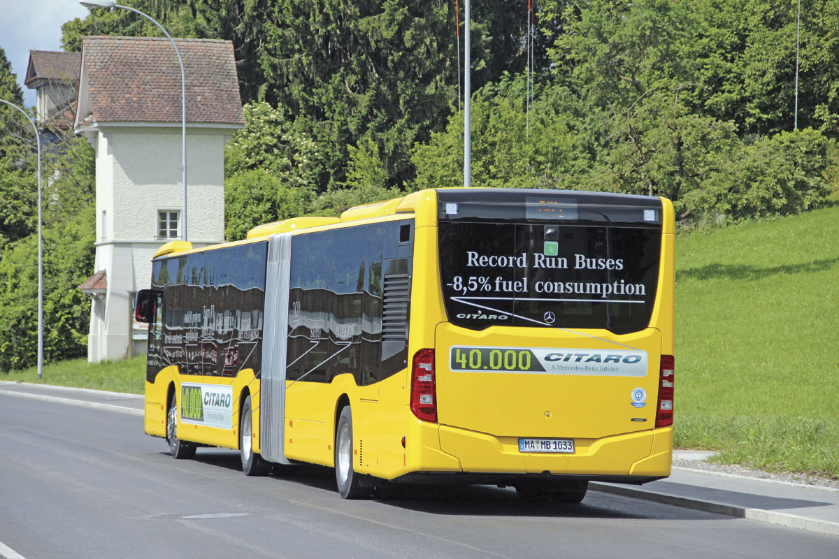 Bus Euro Test 2014 Bus Amp Coach Buyer