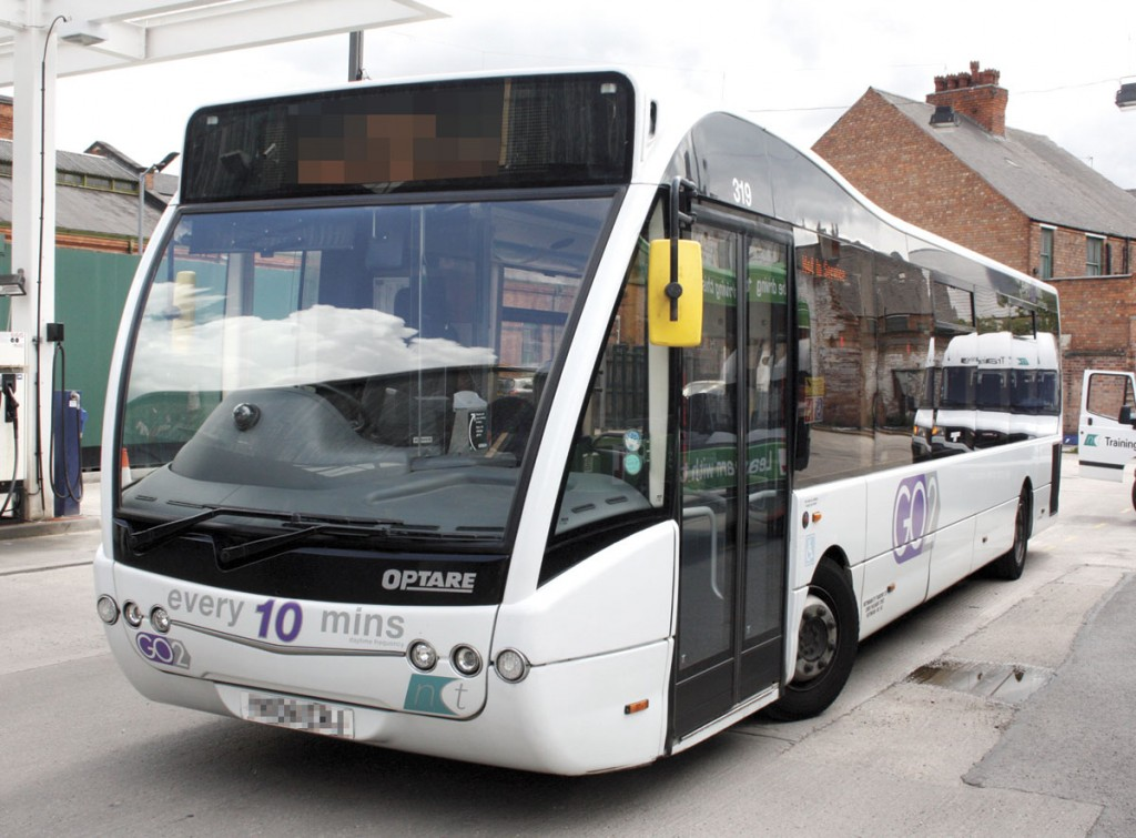 TDS supplies the door system for several Optare models, including the Versa (pictured here)
