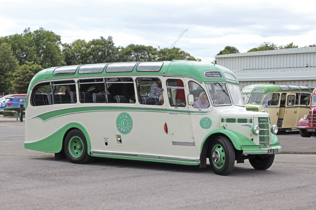 Taw & Torridge's OB returns from a Saturday afternoon trip to Dunstable Downs. It had been driven 269 miles to participate