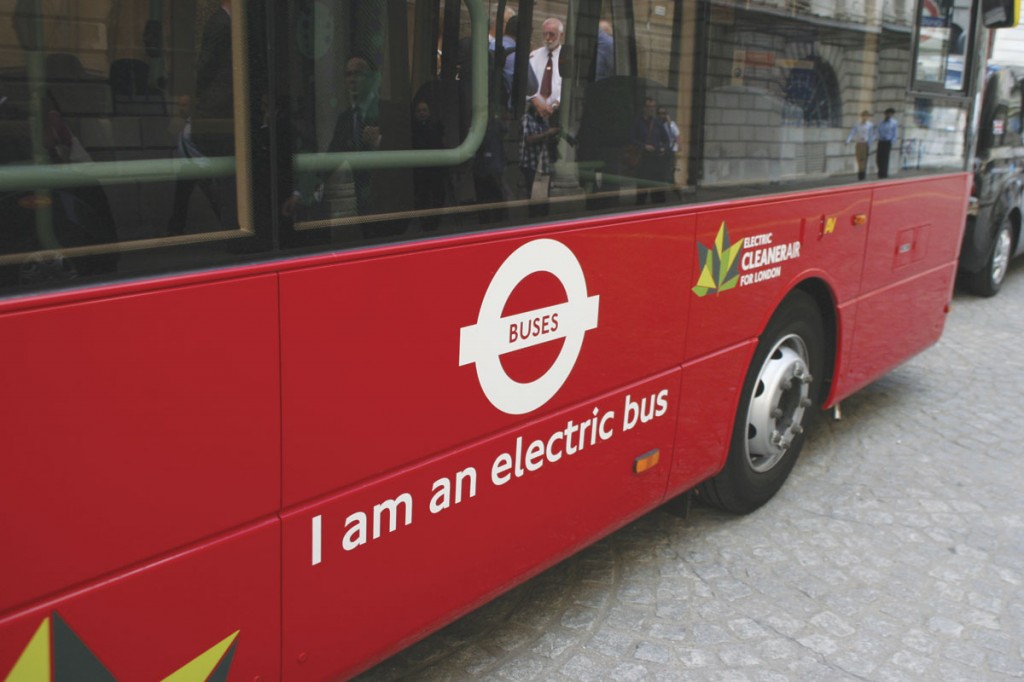 The MetroCity is the first British built electric bus to enter service in London