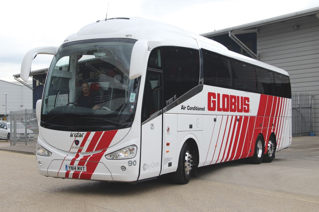 The coach is spending the season on UK and Irish tours for Globus