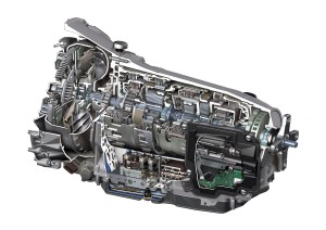 The excellent Mercedes-Benz 7G Tronic Plus fully automatic transmission which is remarkably smooth and quiet in operation