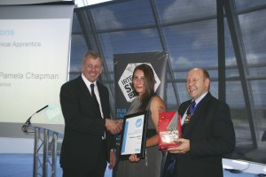 Top Scoring Mechanical Apprentice, Pamela Chapman