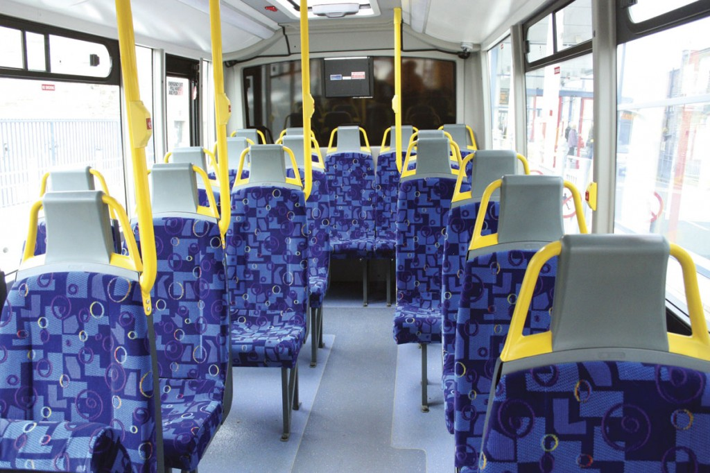 A service bus version of the Orion Plus in service bus form_seating