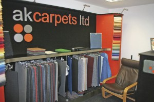 AK Carpets offers everything from flooring, matting and sidelining