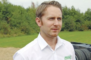 Plastisol UK Operations Director, Ben Jardine