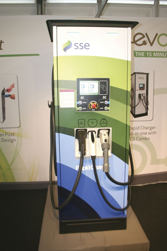 The Rapid charging unit from eVolt