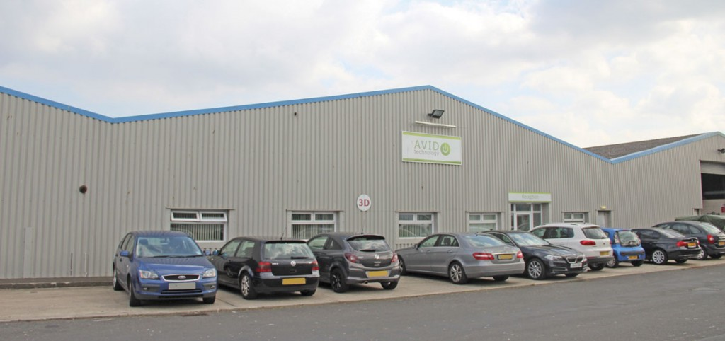 AVID Technology's new premises on the Admiral Business Park in Cramlington