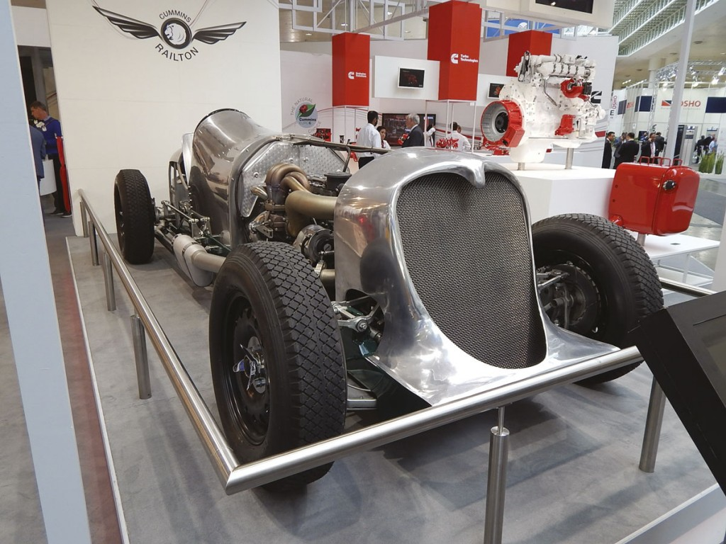 Cummins' replica Napier Railton Special with ISBe engine uprated to almost 500bhp
