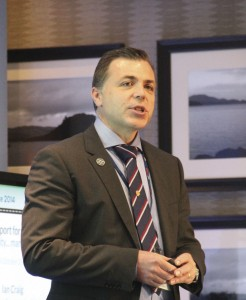 Ian Craig, Chief Executive, Transport for Edinburgh.