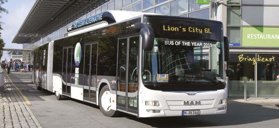 International Bus of the Year 2015 – MAN Lion's City GL CNG