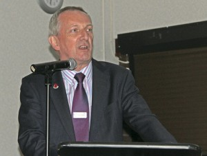 Nigel Eggleton, MD of First Midland Red Buses Ltd