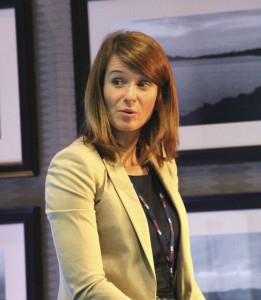 Sarah Boyd, Operations Director of Lothian Buses.