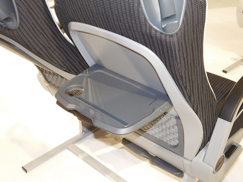 Table with iPad slot on the Brusa Create 120 KS seat