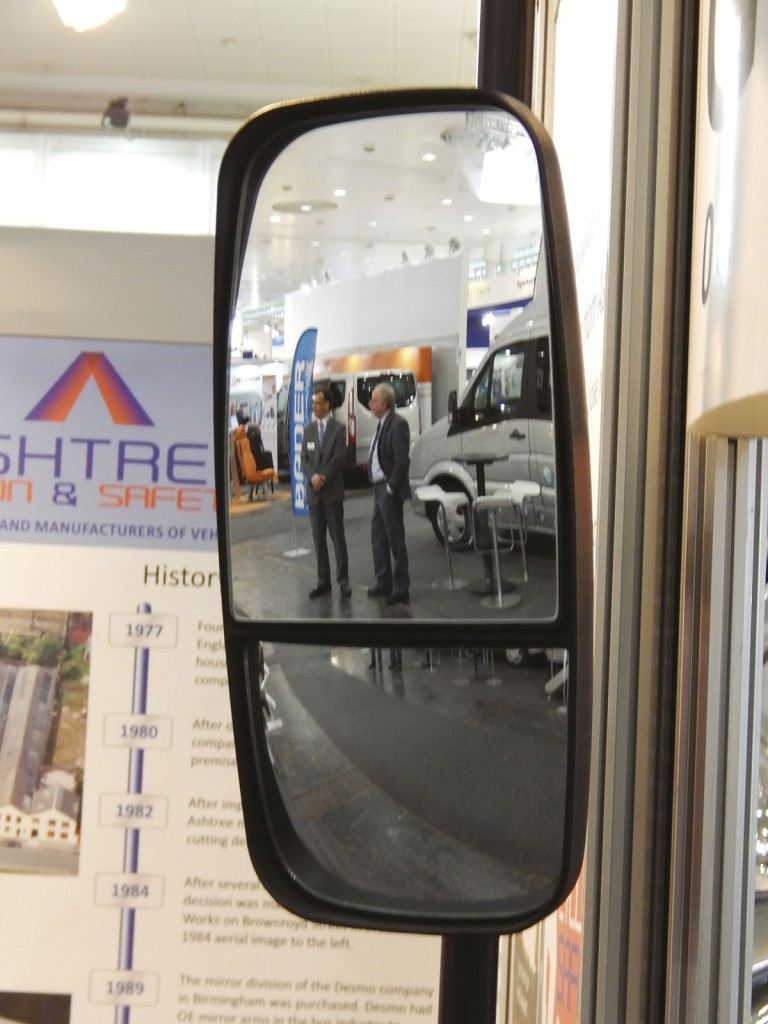 The Cyclesafe mirror from Ashtree Glass