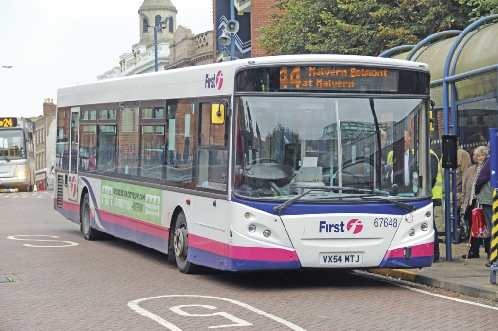 The Malvern to Worcester section of the route is now covered by the 44 group of routes which have seen their frequencies increased in recent years