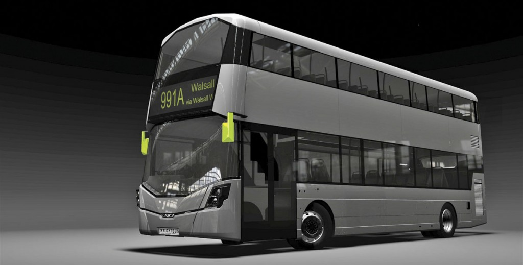 The clean new look will be applied across the Wrightbus range