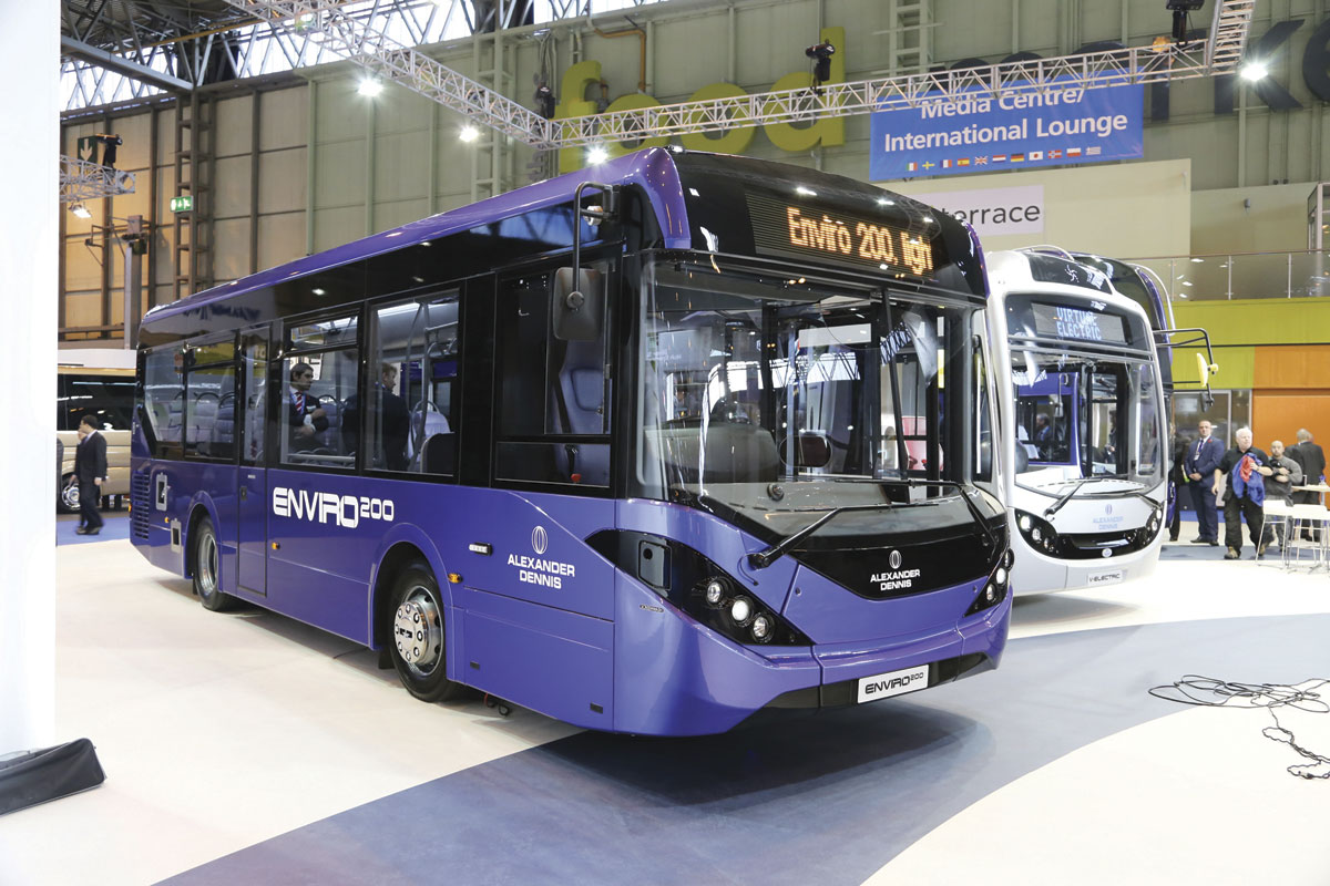 ADL's new Enviro 200 single decker carries over many of the recent changes introduced on the Enviro400 double decker