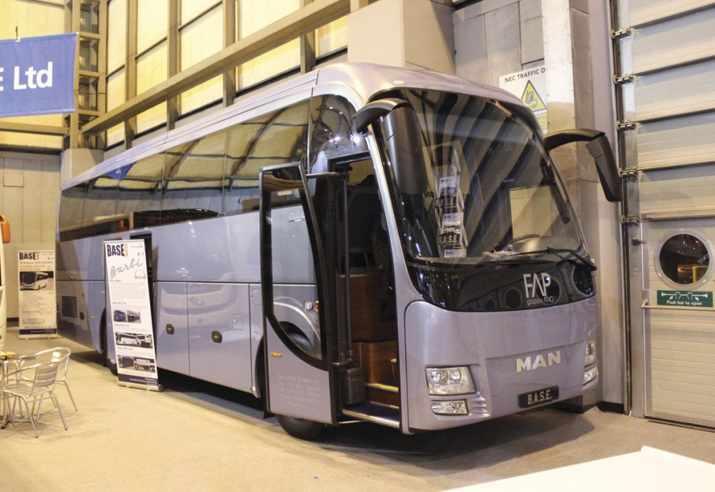 Barbi is a new top of the range coach option based on MAN chassis