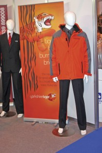 First Corporate Clothing displayed its Yorkshire Tiger uniform