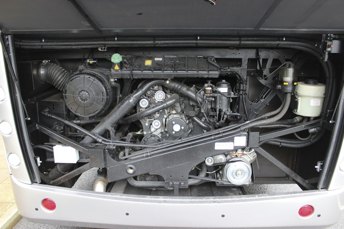 For Euro6, MAN have added SCR technology to the EGR used for Euro5