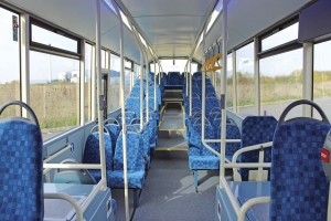 Internally the impression created is one of great spaciousness, yet there are 46 seats within the 12m overall length