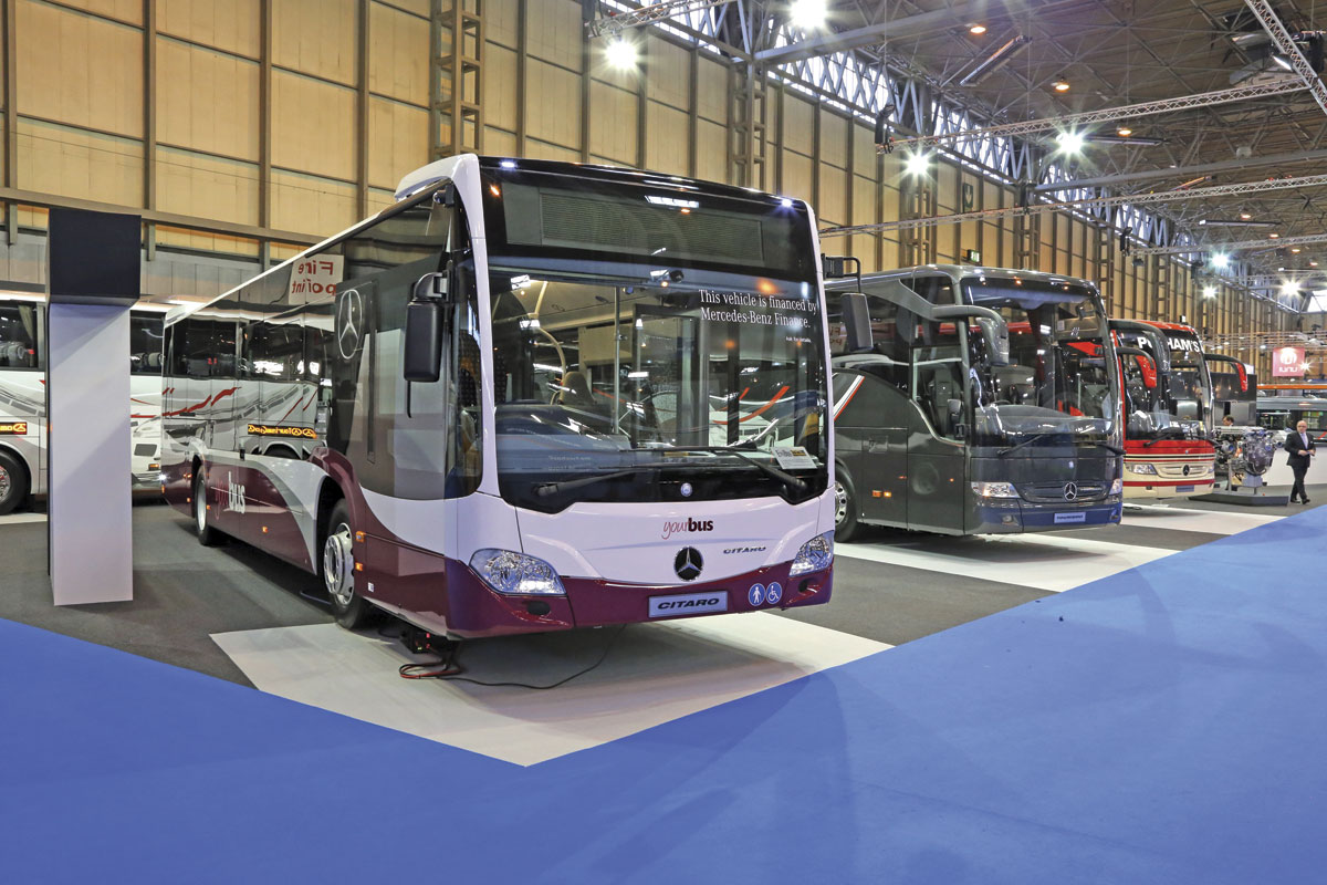 Mercedes-Benz Citaro and Tourismo
