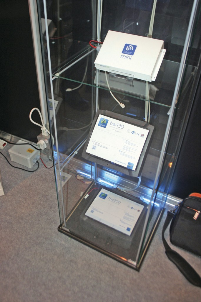 Models of Mobile Onboard's Beam range, including the bw130
