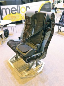 New lightweight child seat and booster from Rescroft