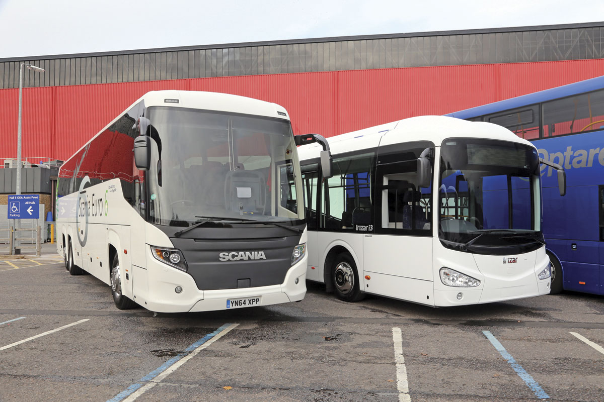 Scania K410 6x2*4 Higer Touring and Scania K250UB 4x2 Irizar i3