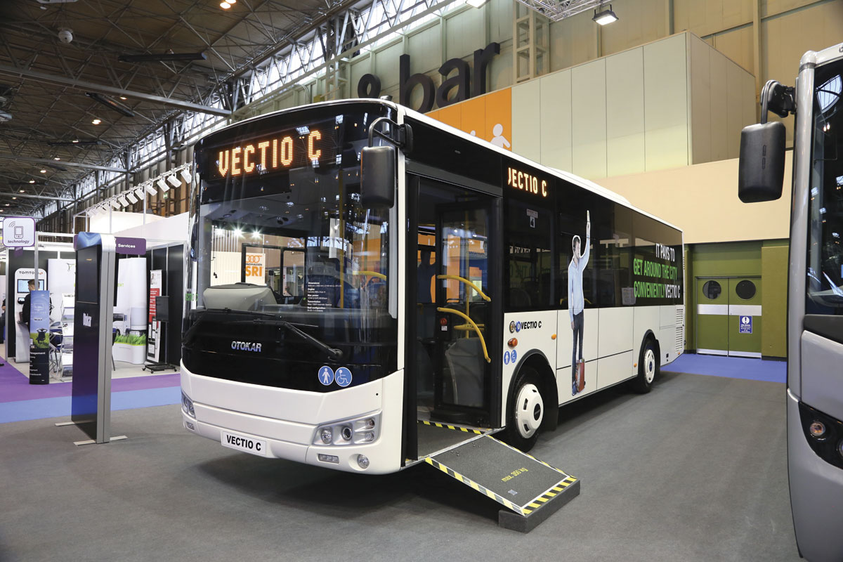 The Turkish built Otokar Vectio C bus was launched in right hand drive form