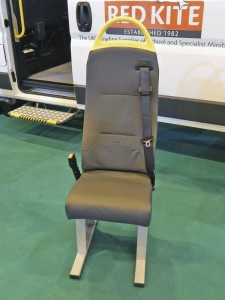 The lightweight Cogent Solo Lite seat