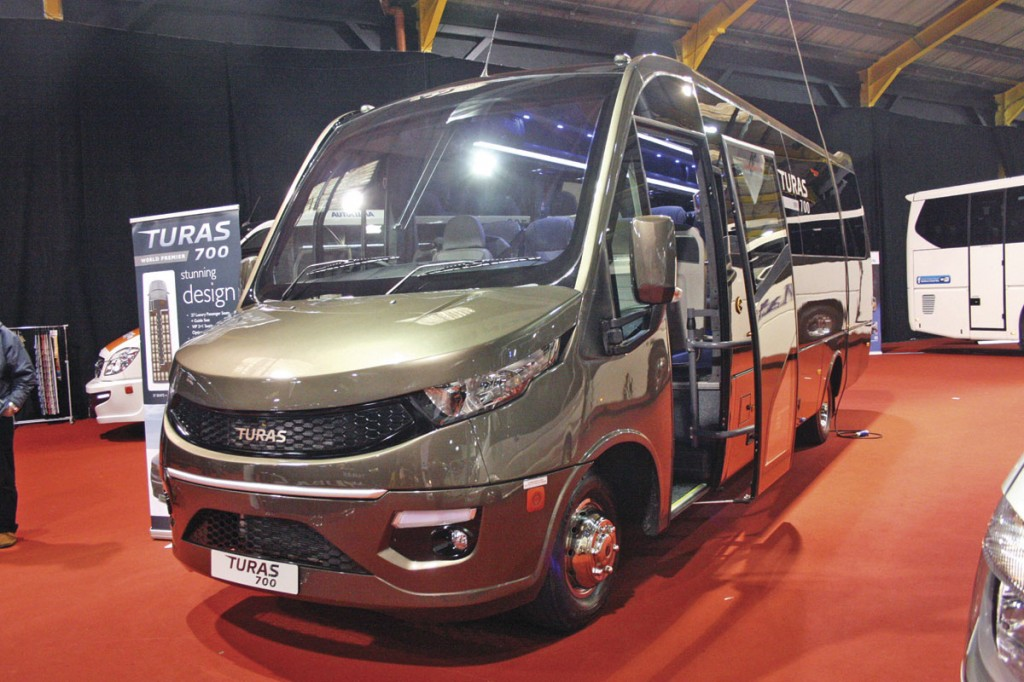 The new 25-seat Turas 700