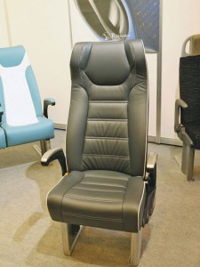 The new TEX (Trans Euro Express) seat fronted the Politecnica stand