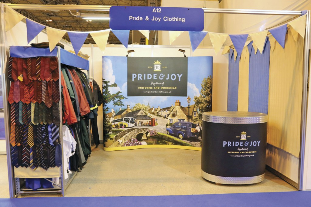 The rebranded Pride and Joy stand