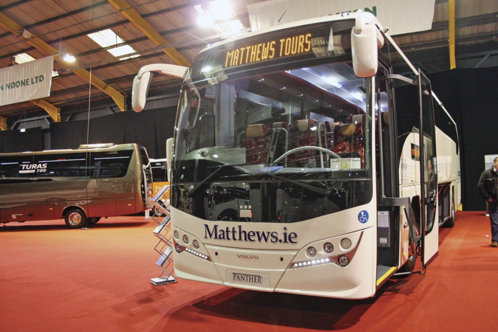 Wheelchair accessible Plaxton Panther for Matthews Coaches