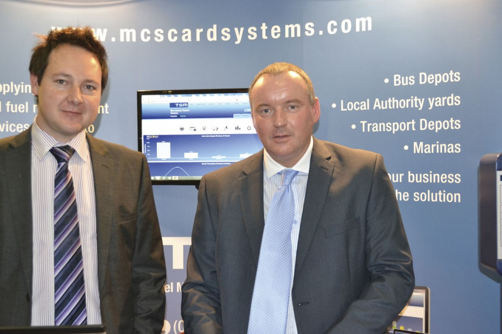 Simon Jepson, MCS Card Systems with Mark Cope of Centaur Fuel Management