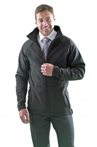 Some of Uniform Express's work clothes, including the new soft shell jacket proving popular in the transport sector