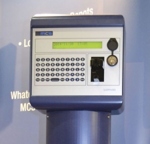 The Sapphire+ card terminal from MCS Card Systems