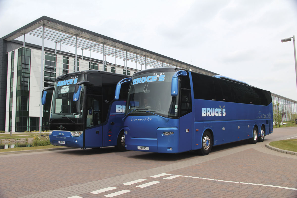 Bruces Coaches Bus Coach Buyer Van Hool Wiring Diagram The Two With Which John Intended To Test Corporate Market In Scotland