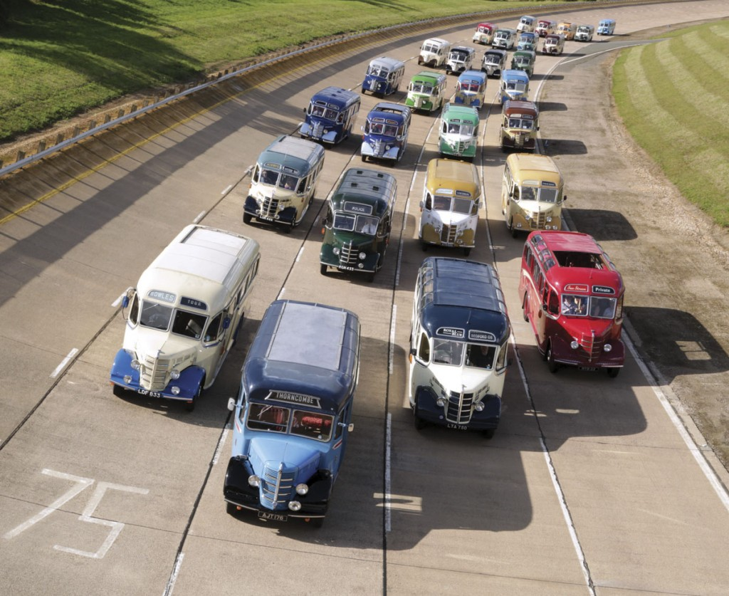 75th anniversary of the Bedford OB (Courtesy Vauxhall and PHS media)