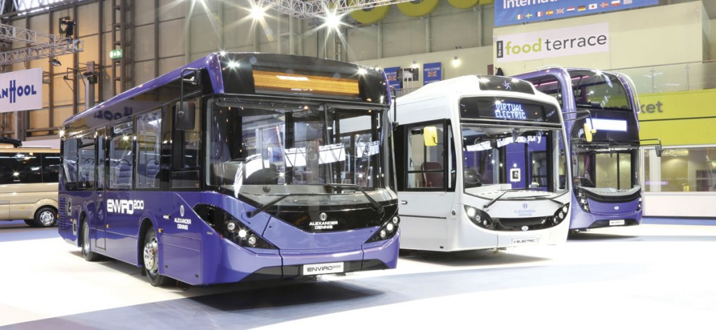 ADL introduced major model change versions of the Enviro200 and 400 together with a virtual electric Enviro350