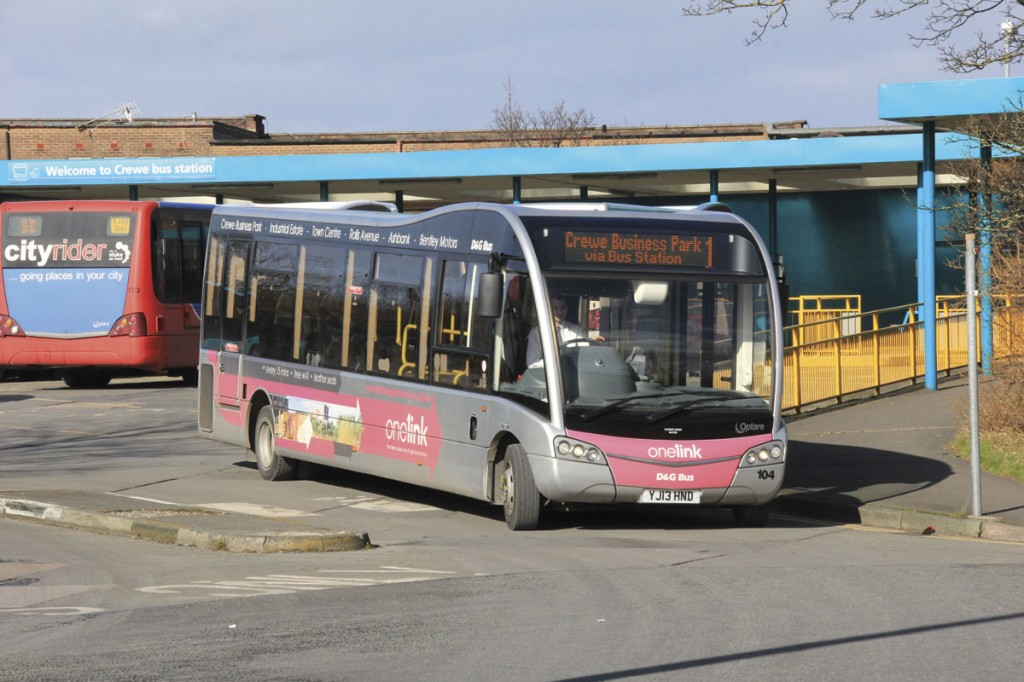 One of four Solo SR M970s purchased new operating the onelink service in Crewe