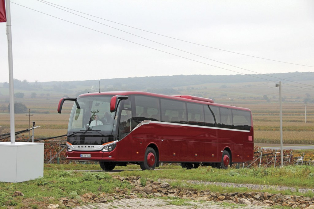 One of two mid height models offered in left hand drive is the ComfortClass S516MD