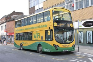 Previously operated by BakerBus but not taken over by D&G were three Volvo B5LH hybrids with Wright bodies