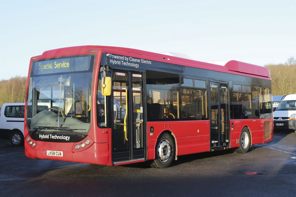 Rather unusual for Heatons is this 10.6m Optare Tempo Hybrid new to Metroline. It represents a lot of bus for £19,995